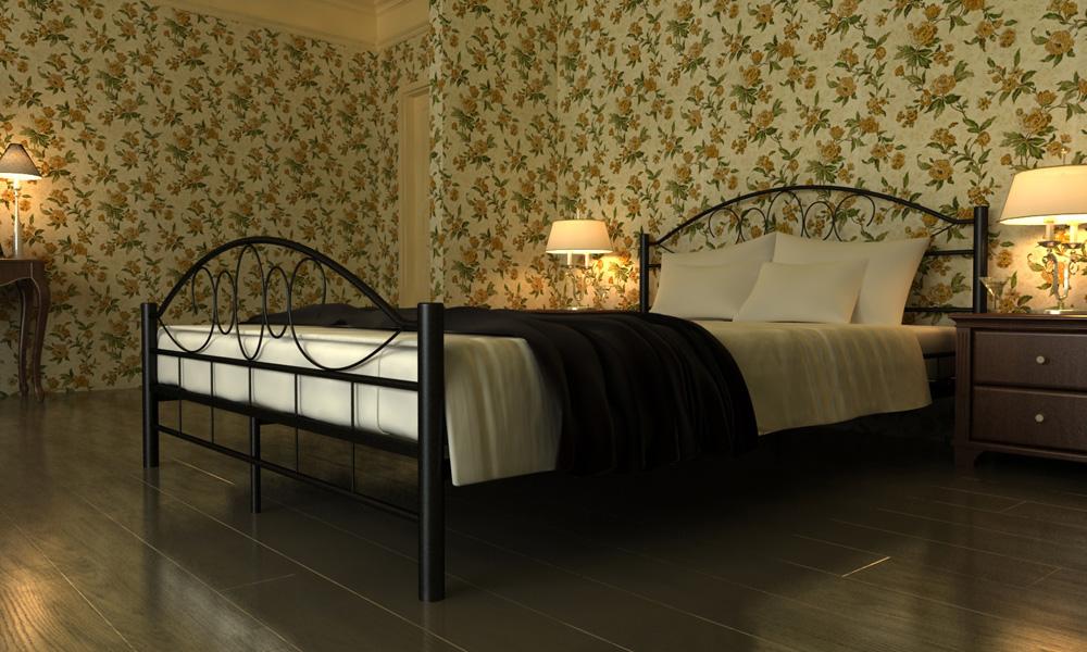"""Kovová postel """"TOSCANA"""" 180x200 včetně roštu+ kvalitní matrace"""