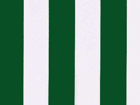 Náhradní látka k 3,0m markýze ( výsuv 2,5m) zelená/bílá-pruhy