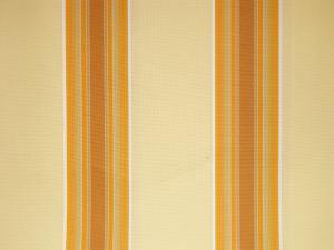 Náhradní látka k 3,0m markýze ( výsuv 2,5m) žluté odstíny - pruhy
