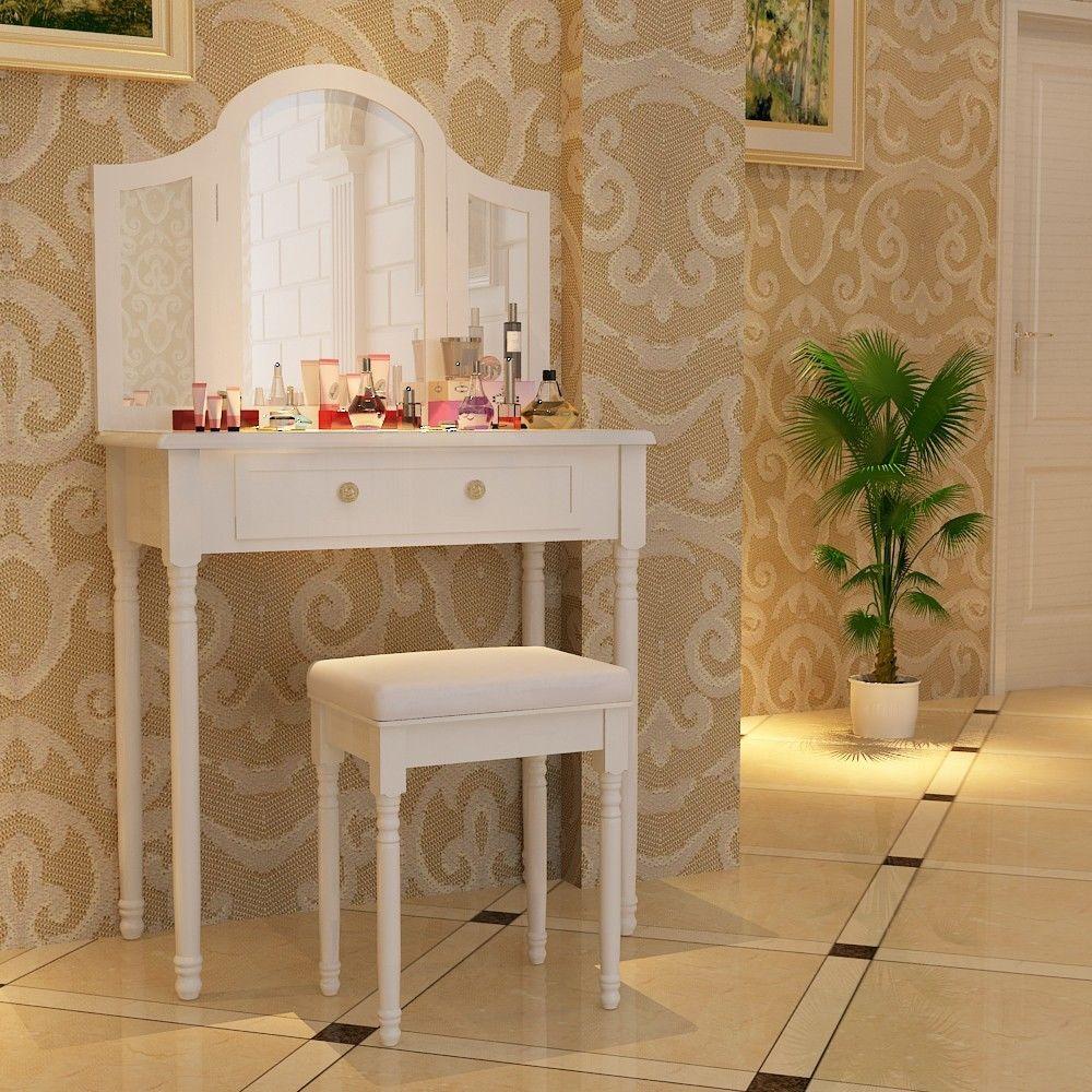 Šperkovnice / kosmetický stolek se zrcadlem RDT33W