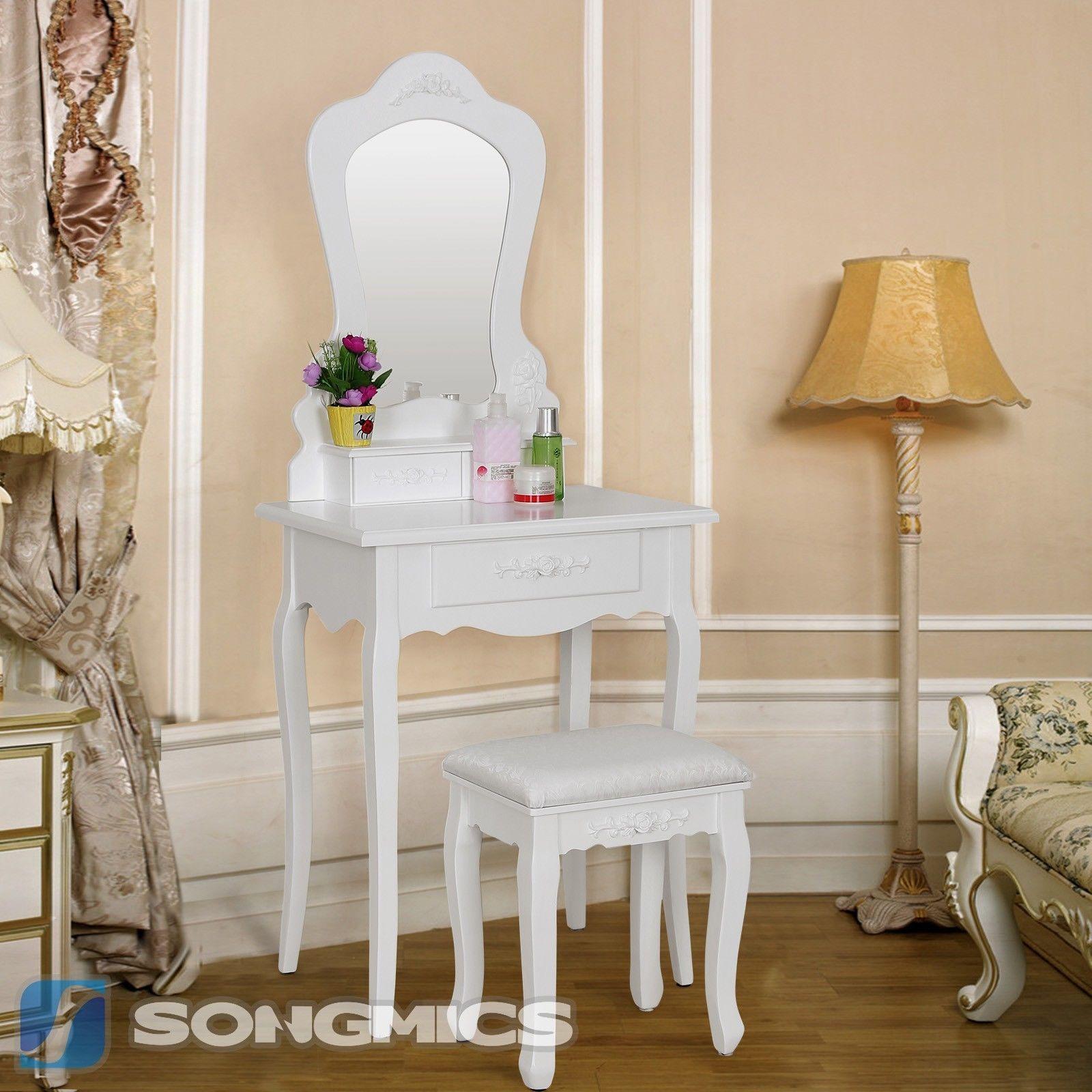 Šperkovnice / kosmetický stolek se zrcadlem RDT60W