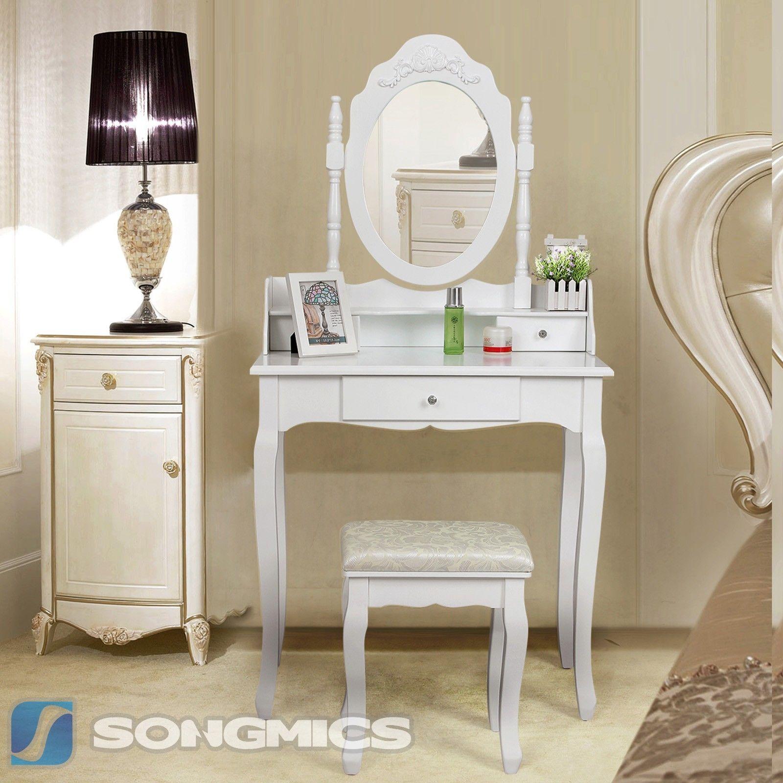 Šperkovnice / kosmetický stolek se zrcadlem RDT75W