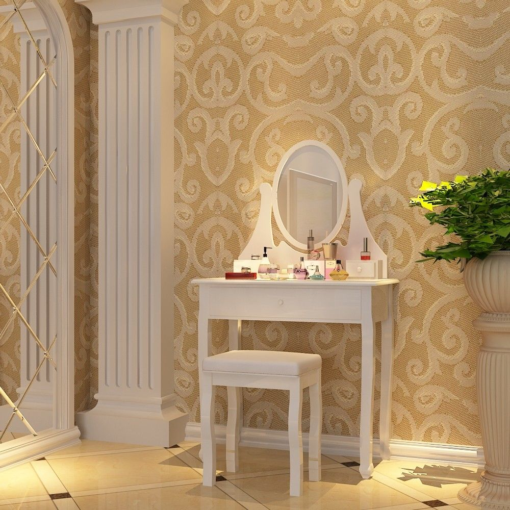 Šperkovnice / kosmetický stolek se zrcadlem RDT002