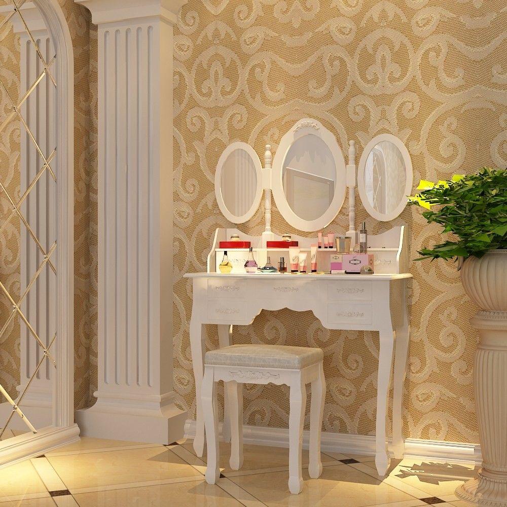 Šperkovnice / kosmetický stolek se zrcadlem RDT91W