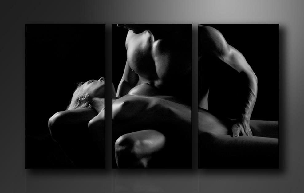Dekorační obraz 160x90cm - 3 díly - 1019 - Erotic