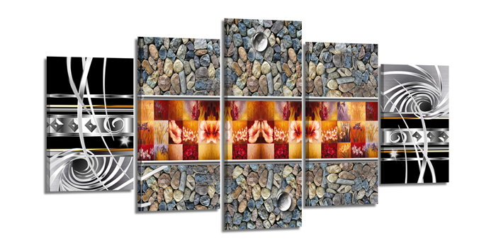 Dekorační obraz 200x100cm - 5 dílů - 6330 - Modern Art