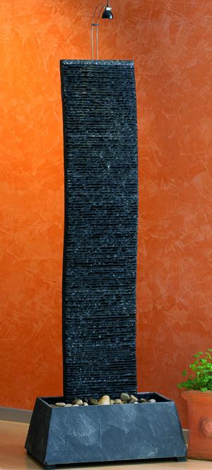 Luxusní vodní zeď / kašna / fontána - Křivý Bao 167cm